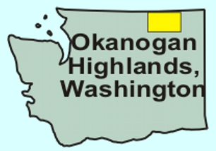 Okanogan Highland Region of Washington State USA