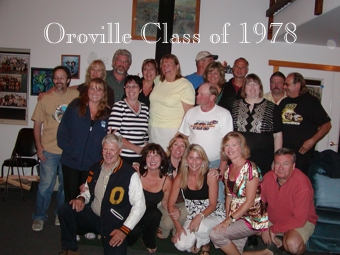 Oroville Class of 1978 Reunion was fun.