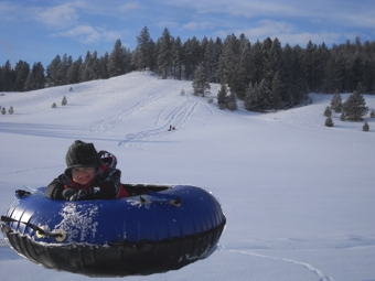 Snow Tubes for Tubing at Eden Valley.